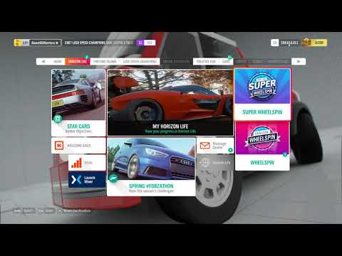 Forza Horizon 4 Unlimited Credits (PC Only)