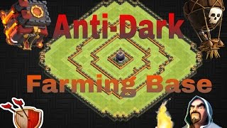Clash of Clans | BEST TH10 Anti-Dark Farming Base w/ NEW BOMB TOWERS | TESTED! [2016] #1