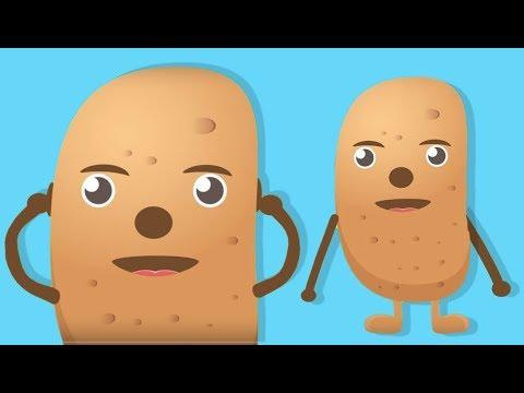 Patates Adam Şarkısı - Bebekler İçin Eğlenceli Şarkı