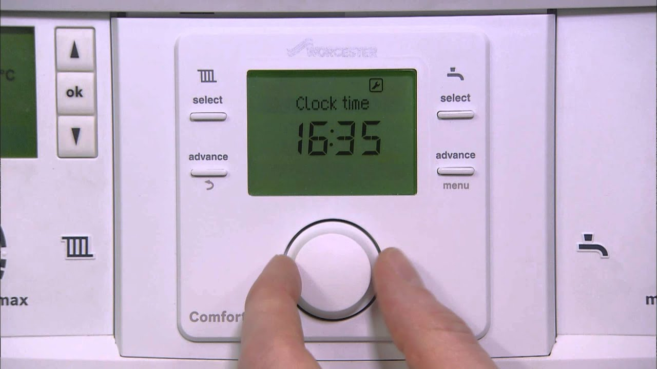 How To Use The Greenstar Comfort Controls Range