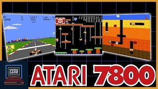 The Story of tнe Atari 7800 - One Chaotic Story - Video Game Retrospective