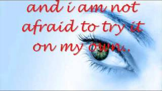 TRY IT ON MY OWN-WHITNEY HOUSTON W/LYRICS