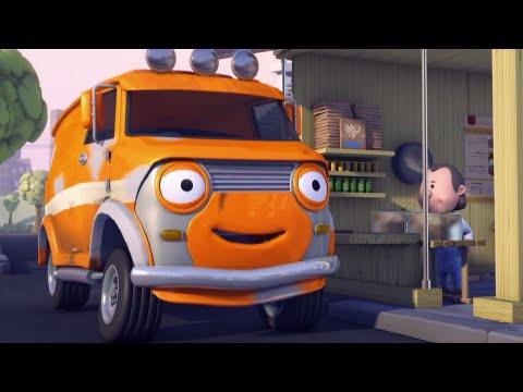 Олли Веселый грузовичок - Мультик про машинки - Еда на колесах - Серия 49 (Full HD)