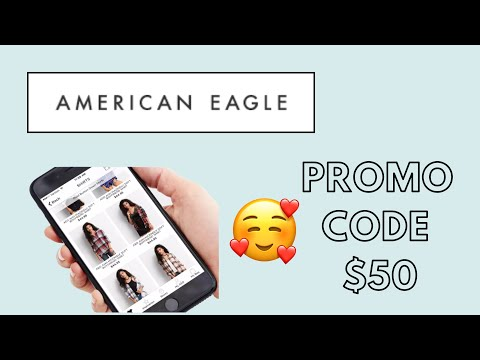 FREE AMERICAN EAGLE PROMO Code 2020 😍 REAL $50 American Eagle Discount Code & Voucher Working! ✔