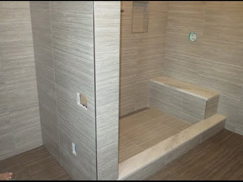 start to finish time lapse schluter bathroom kerdi line. Black Bedroom Furniture Sets. Home Design Ideas