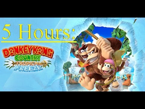 5 Hours | Aquatic Ambiance | Donkey Kong Country Tropical Freeze
