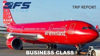 TRIP REPORT | Air Greenland - A330 200 - Copenhagen (CPH) to Kangerlussuaq (SFJ) | Business Class