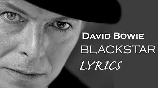 David Bowie Blackstar Lyrics