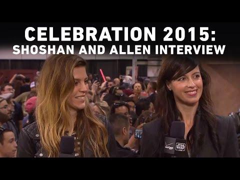 Actors Orli Shoshan and Amy Allen Interview with StarWars.com | Star Wars Celebration Anaheim