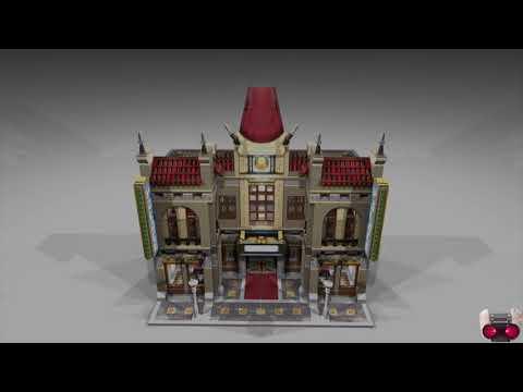 Modified Lego Chinese Cinema Palace