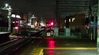 【泉北高速12000系】特急泉北ライナーなんばゆき堺東通過シーン。
