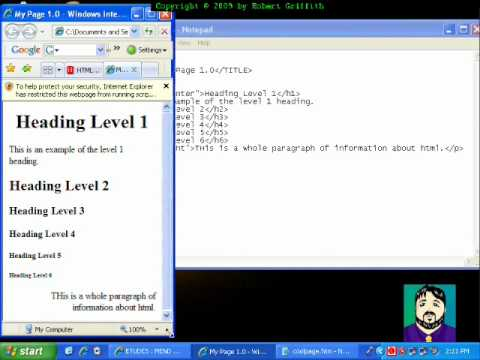 How to write code in xhtml