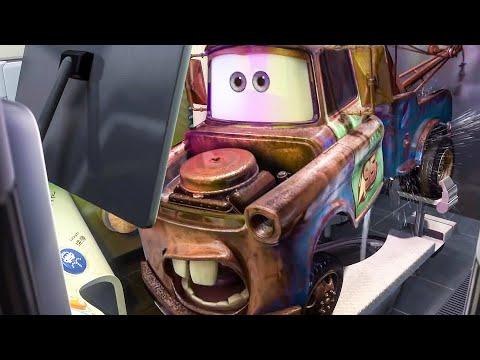 Anese Bathroom Scene Cars 2 2017 Movie Clip You