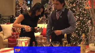 Rum Punch & Mistletoe Margaritas With Jonathan Pogash At Pottery Barn