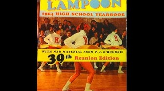 National Lampoon 1964 High School Yearbook Product Feature | Parody  Humor Book