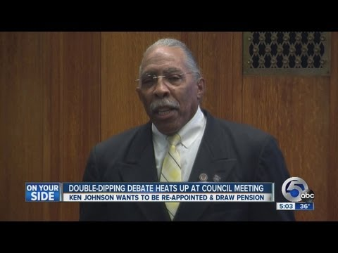 Heated council meeting