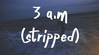 Finding Hope - 3:00 AM (Lyric Video) Stripped Version