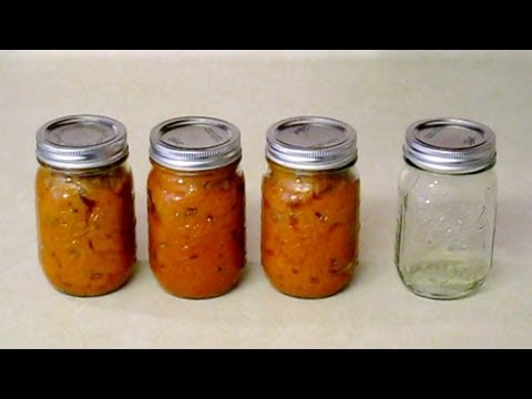 Canning Fruit by Making Jam at Home.  No Pectin.  Simple Recipe.