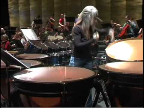 Evelyn Glennie rehearsal with Cabrillo Festival Orchestra