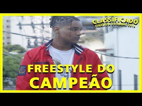 DUDU - FINALISTA ESTADUAL 2019 - FREESTYLE DO CAMPEÃO