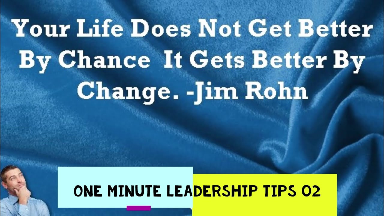 One Minute Leadership Tips: 02 Adaptability