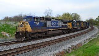 Railfanning Harpers Ferry, WV and Shenandoah Junction, WV on April 13th, 2017