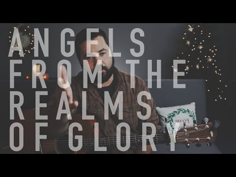 Angels From The Realms Of Glory (Live Christmas Guitar Tutorial)