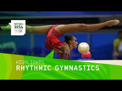Irina Annekova Wins Women's Rhythmic Gymnastics Gold - Highlights | Nanjing 2014 Youth Olympic Games