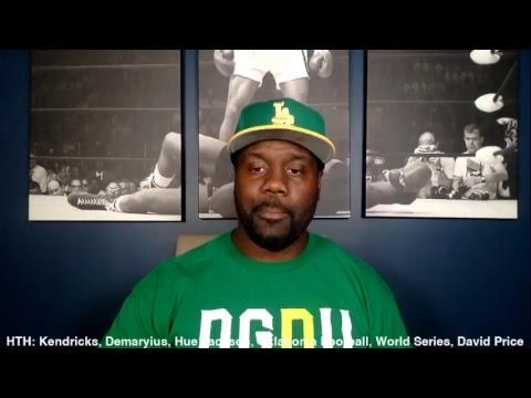 HTH: Kendricks, Demaryius, Hue Jackson, Oklahoma Football, World Series, David Price