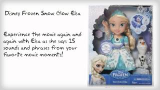 Disney Frozen Snow Glow Elsa