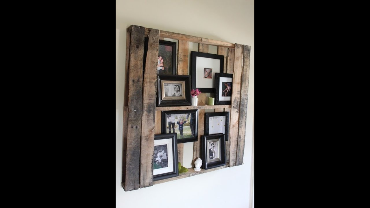 Attractive Pallet Art Part - 10: Wood Pallet Art Complilation - YouTube