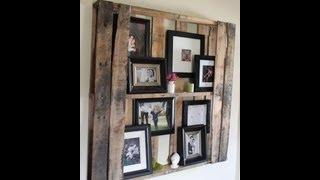 Wood Pallet Art Complilation