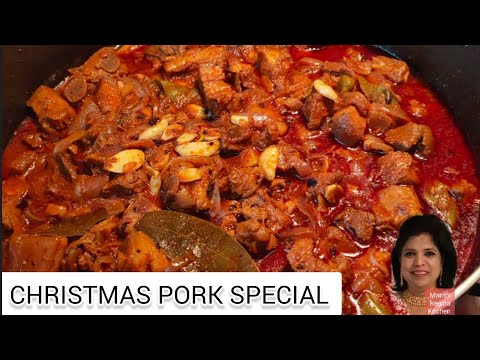 CHRISTMAS PORK SPECIAL in pure Indian Traditional way.