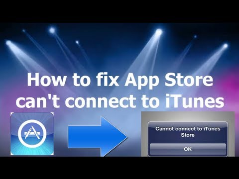 can t connect to app store on iphone how to fix app can t connect to itunes 20648