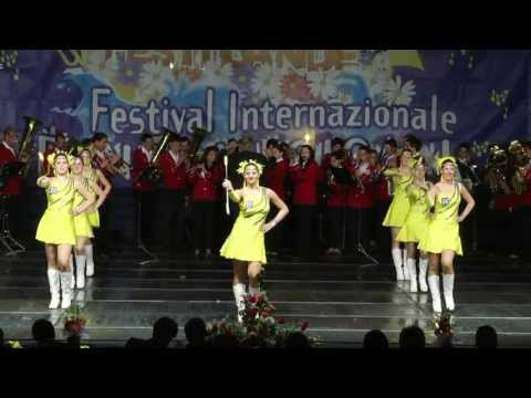 Sopron Majorettes Groupe and Zalai Balaton - Part Youth Brass Band UNGHERIA