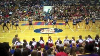 cedar rapids washington cheerleading fall sports assembly