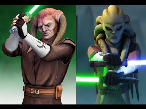 Versus Series Saesee Tiin VS Kit Fisto