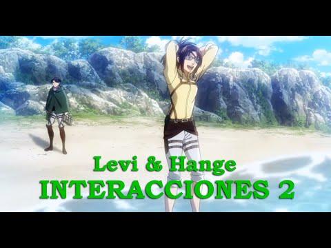 Levi y Hange   Interacciones (Parte 2)   Attack on Titan [Eng sub]