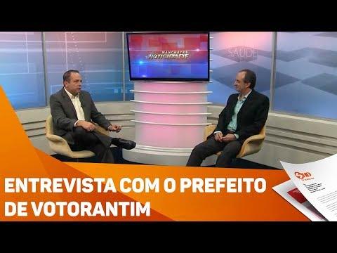 Entrevista com o prefeito de Votorantim - TV SOROCABA/SBT