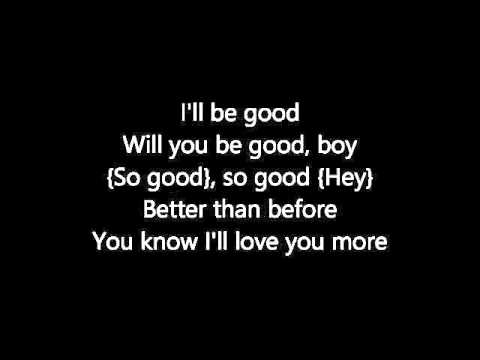 Rene & Angela - I'll Be Good (Lyrics)