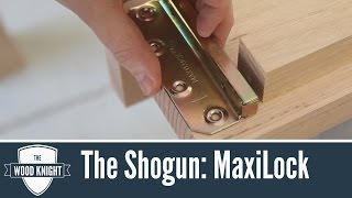 The Shogun - Part 3: MaxiLock Bed Brackets