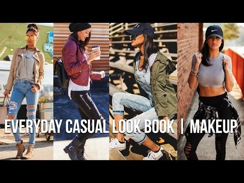 Casual Everyday Outfits LOOK BOOK & Natural Makeup Look  Trendy Mom on the GO
