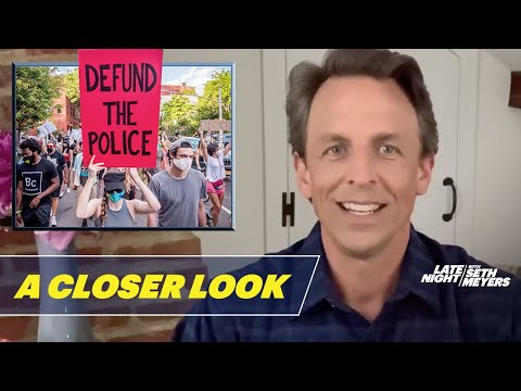 Trump Sinks in Polls, Protesters Call to Defund the Police: A Closer Look
