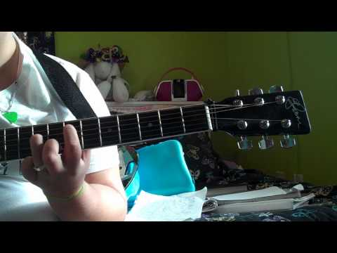 How to Play Lovebug On Guitar (easy)