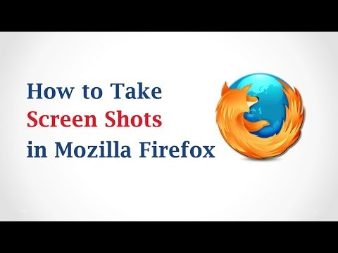 How to Take ScreenShots in Mozilla Firefox