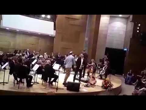 אהבת עולם // יצחק מאיר, לירון לב וסימפונט רעננה - מנצח: תומר הדדי