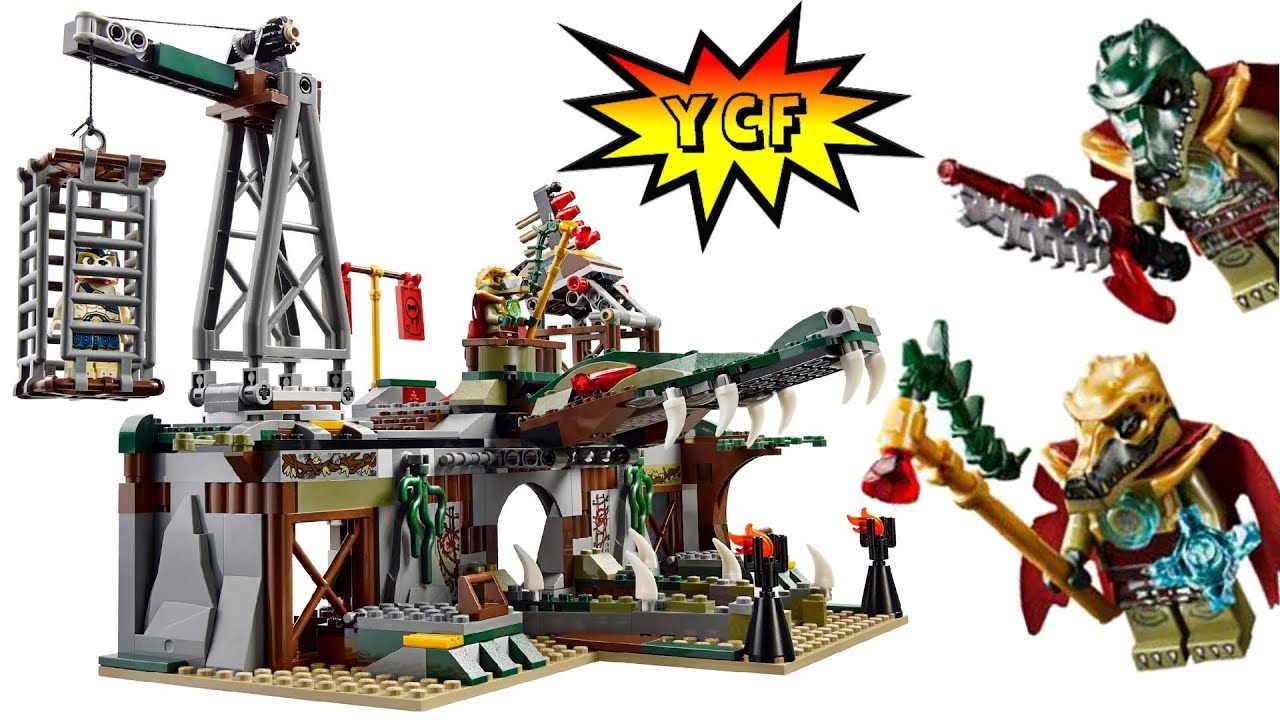 LEGO Chima 70014 The Croc Swamp Hideout Summer 2013 ...