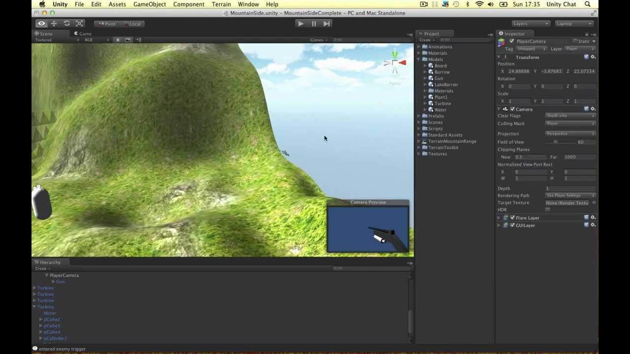 Unity Tutorial - Multiple Camera FPS Setup