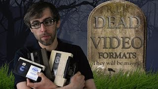 DEAD VIDEO FORMATS - They Will Be Missed - Philips N1500 - U-Matic - Video 2000 - UMD And More