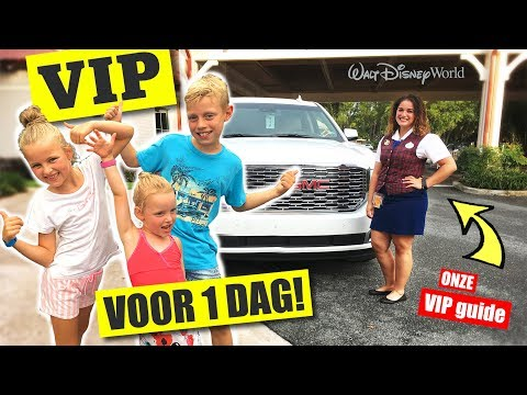 V.I.P. VOOR 1 DAG In Disney World Florida!! [VLOG 3] ♥DeZoeteZusjes♥